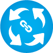 Icon for Fully integrated platform
