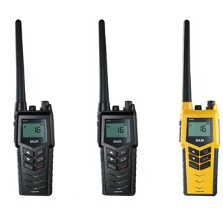 Communication is vital for safety and efficiency at sea so choosing a portable radio designed specif-ically for this harsh environment is a must. Fully waterproof, the SAILOR SP3500 portable series offers a model for all marine applications including GMDSS and new ATEX versions.