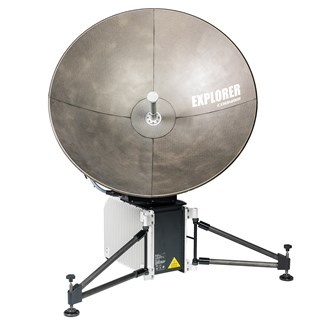 0.75 Meter Auto-Deploy Fly-Away for Inmarsat GX.