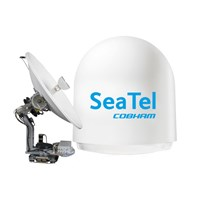 SEA TEL 100 TVHD, Maritime Satellite TV System