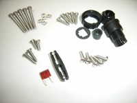 Screw Kit with 7,5A Fuse F/ VHF 6248