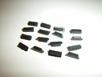 Feet for Rear Cover EXPLORER 710 - 16 pcs.