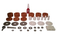 Retrofit Sorbothane Upgrade Kit, 3 point,  Rubber