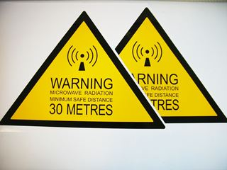 Warning Label, 30 Metres 2 Pcs.