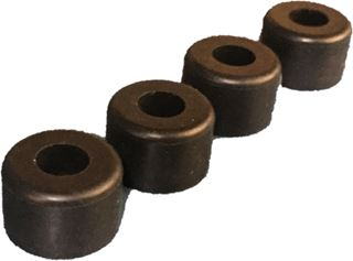 Bumper, Rubber Recessed, .75OD x .56 LNG (4 Pcs.)