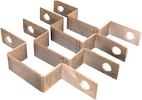 Strap, Rigid Waveguide, WR-75 (4 PCS.)