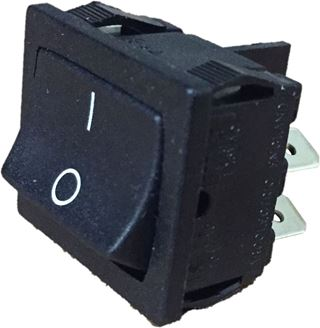 Switch, Rocker, DPSt, 10A (2 Pcs.)