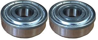 Bearing Ball,.591ID,1.654 OD,SNG RW DP GR (2 Pcs.)