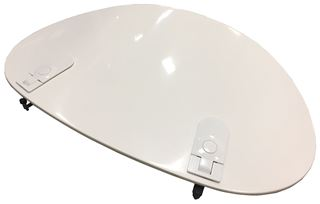 Radome Door Assy, 50 IN, Smooth, White