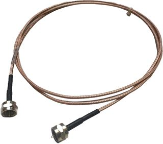 Cable Assy, RG-179, F TO F, 60 IN, BLK