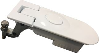 LATCH, RADOME DOOR, SEALED COMPRESSION, WHITE