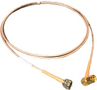 CABLE ASSY, RG-179, F(M) TO SMA(M)(RA), 60 IN, ORG