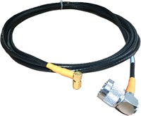 CABLE ASSY, SMA(M) 90 TO N(M) 90, 144 IN, ORG