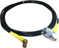 CABLE ASSY, SMA(M) 90 TO N(M) 90, 144 IN, YEL
