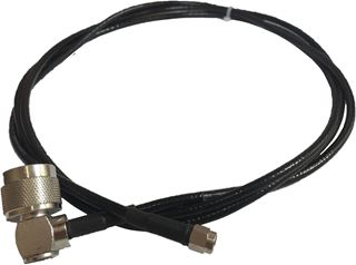Cable Assy, SMA(M)-N(M) 90 DEG, 6 FT