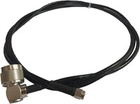 Cable Assy, SMA(M)-N(M) 90 DEG, 8 FT