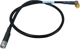 Cable Assy, SMA 90 - SMA (M), 10 IN