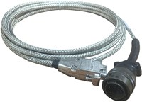 HARNESS ASSY,400MHZ MUX TO COMTECH LPOD,RS-232,72""